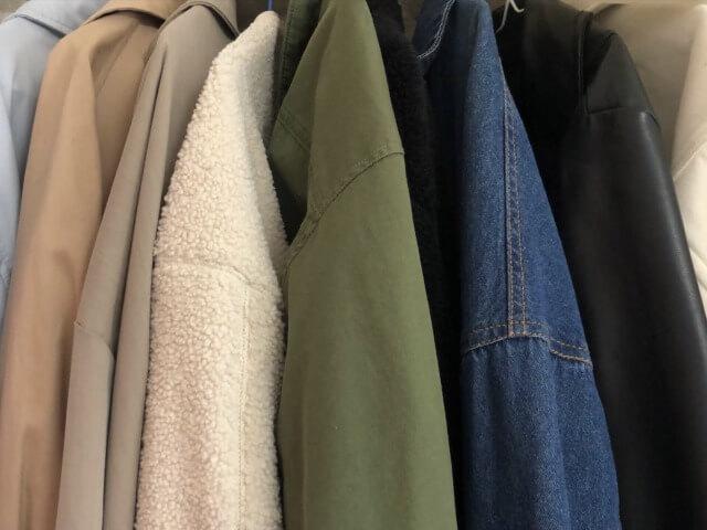 たくさんの服たち