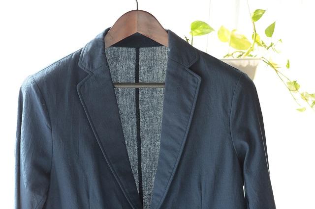 タオル生地のジャケット