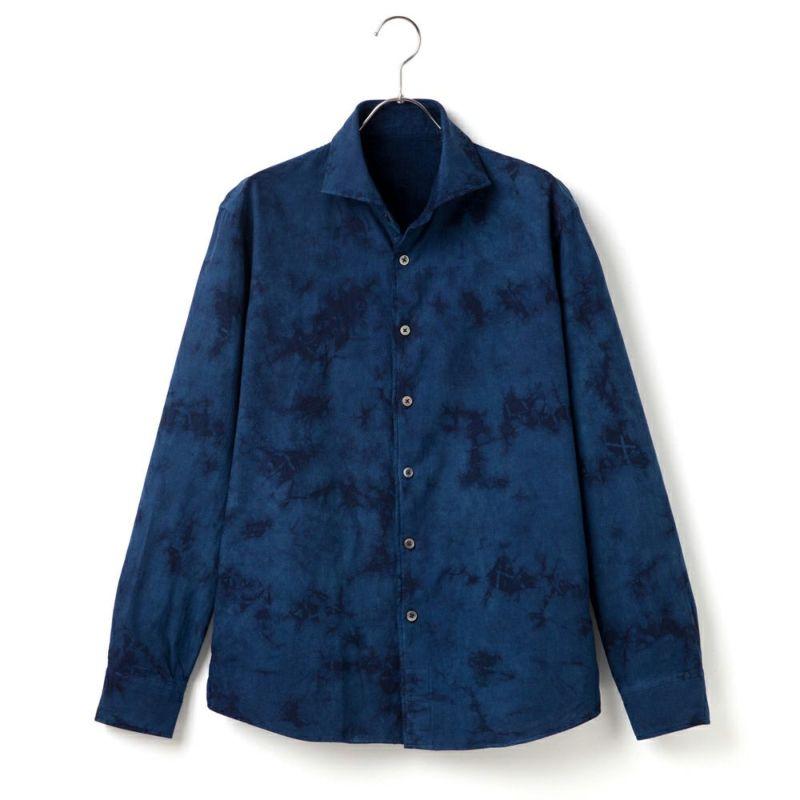 藍染シャツ